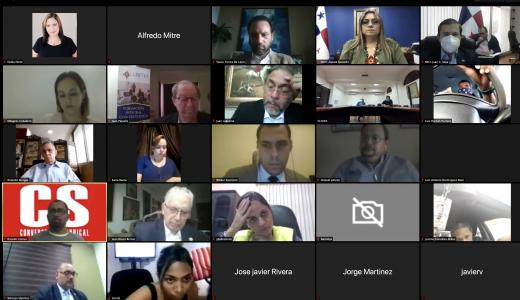 ML | Reunión virtual de la mesa tripartita