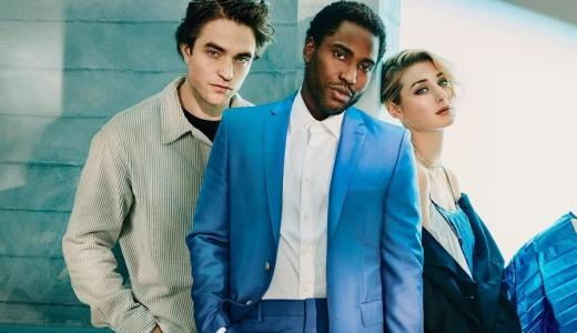 ML |   Robert Pattinson, John David Washington y Elizabeth Debicki.