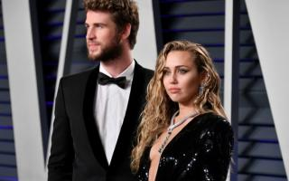 AFP | Liam Hemsworth y Miley Cyrus